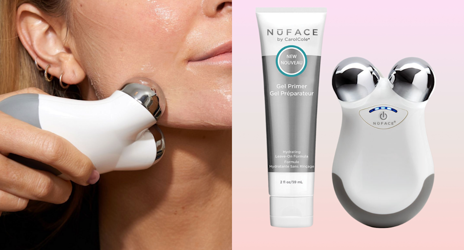 The cult-favourite NuFace is 30% off right now — but the sale won't last for long (Photos via @mynuface/Instagram & SkinStore)