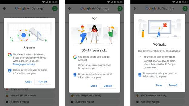google revamped ad settings tool