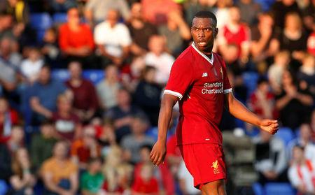 Football Soccer - Tranmere Rovers vs Liverpool - Pre Season Friendly - Liverpool, Britain - July 12, 2017   Liverpool's Daniel Sturridge. Action Images via Reuters/Craig Brough