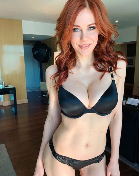 Maitland Ward in porn underwear shot after ditching Boy Meets World fame for adult film.