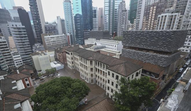 The 155-year-old former Central Police Station compound comprises 16 historic buildings. Photo: Nora Tam