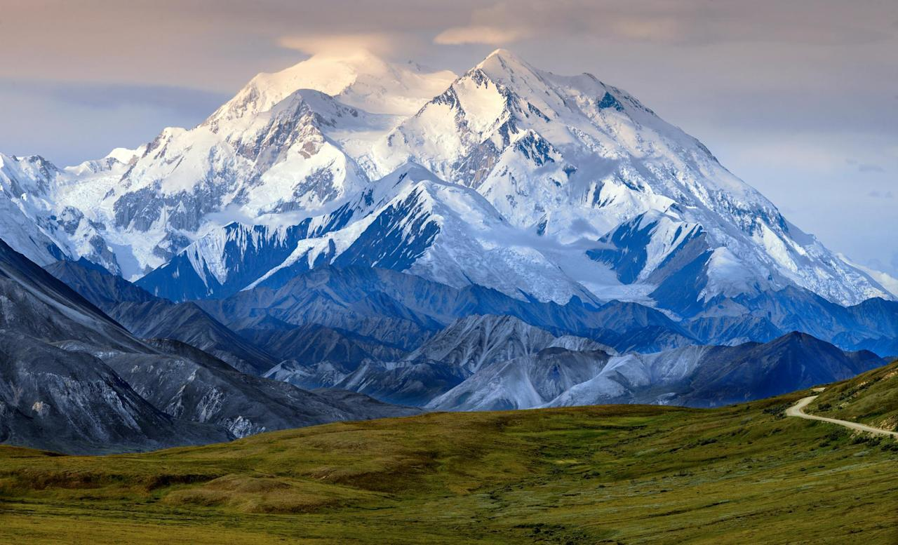 <p>Breathtaking Denali soars to a height of over 20,000 feet, making it North America's highest peak. It's such a popular photo op that Alaska's tourism agency offers a whole page of options explaining how to snap the best shot of the monster mountain.</p>