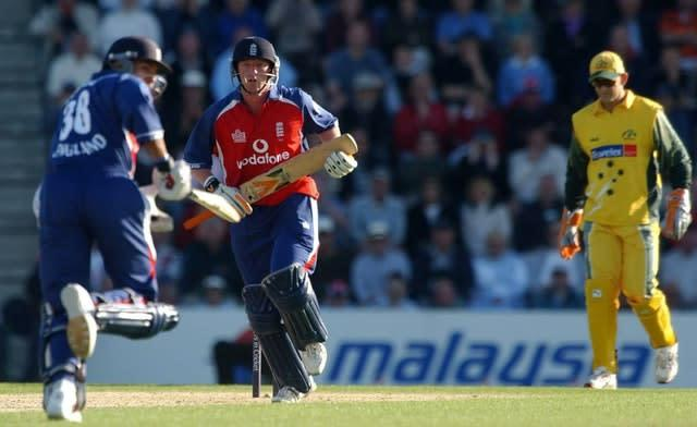 Paul Collingwood put in an impressive display (Chris Young/PA)
