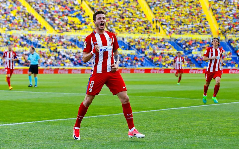 Chelsea are hopeful of pushing through a deal for Atletico Madrid's Saul before 11pm - REUTERS/Borja Suarez
