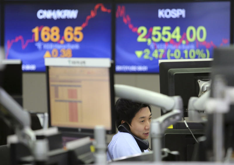 Losses for tech and consumer products companies hit stocks