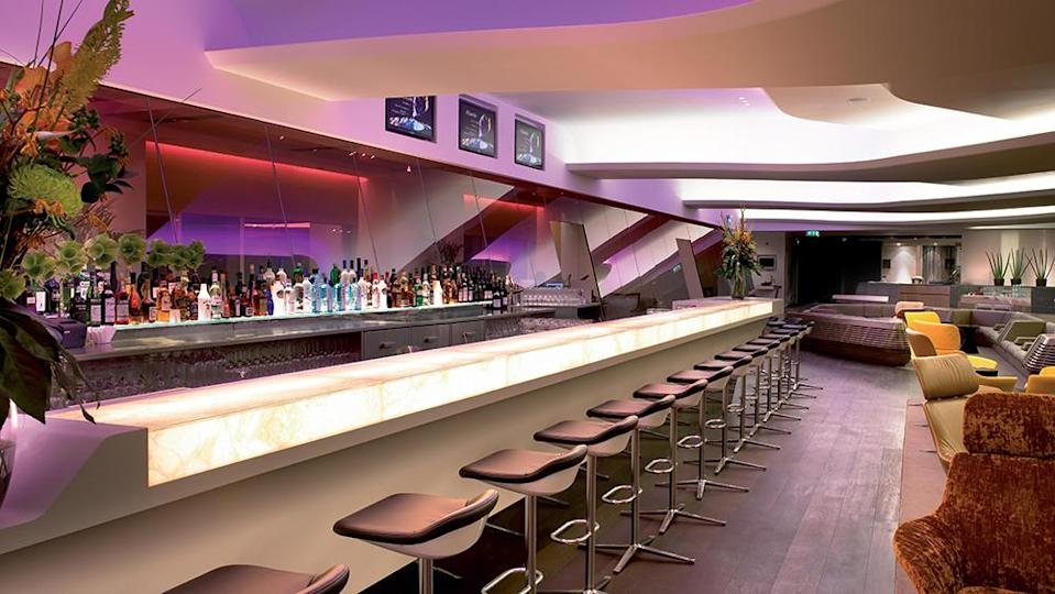 First-class lounges, like the Clubhouse at London Heathrow, began to reopen over the summer. - Credit: Virgin Atlantic