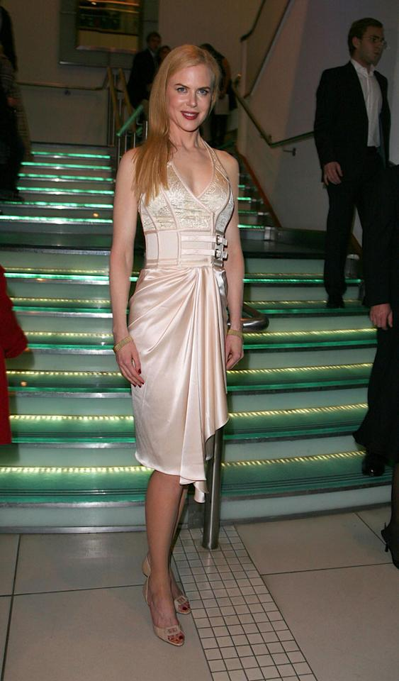 "Nicole Kidman at ""The Golden Compass"" world premiere at the Odeon Leicester Square in London, England. Davidson/<a href=""http://www.infdaily.com"" target=""new"">INFDaily.com</a> - November 27, 2007"