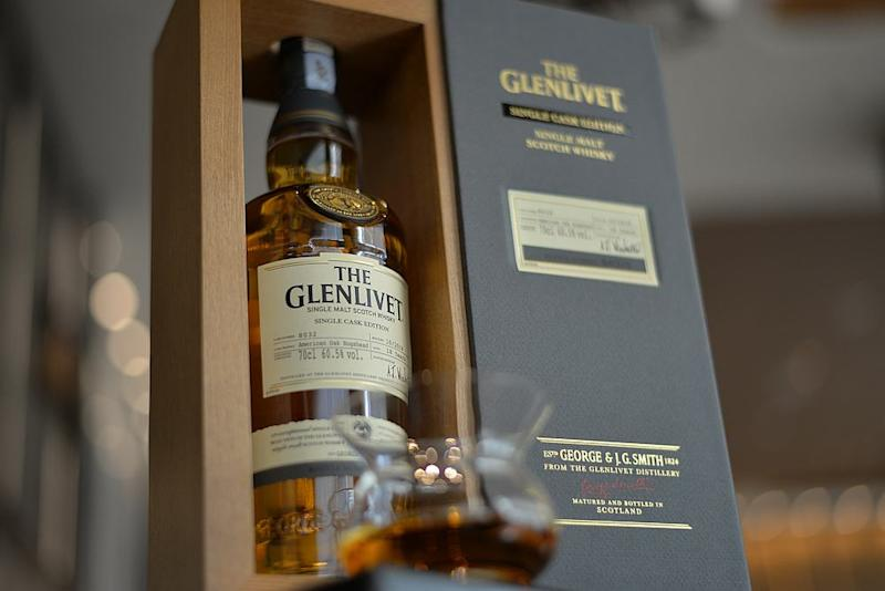 The Glenlivet 18 Years Old Single Cask Edition is crafted exclusively for whisky enthusiasts in Malaysia. — Picture courtesy of Pernod Ricard Malaysia