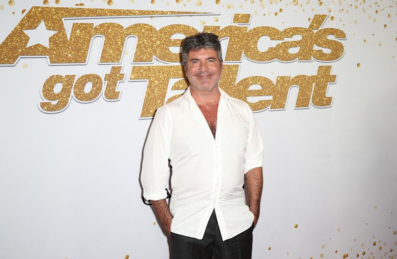 Simon Cowell on September 19, 2018 in Hollywood, California.