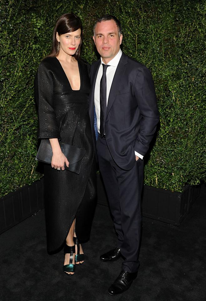Mark Ruffalo attends the Chanel Pre-Oscar dinner at Madeo Restaurant on February 23, 2013 in Los Angeles, California