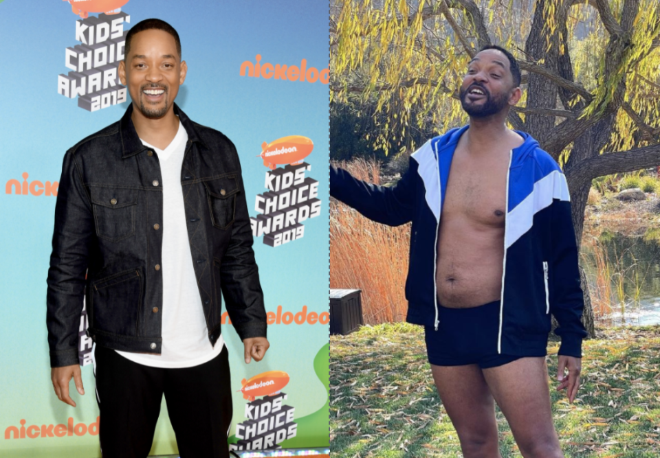 Will Smith was praised after revealing that he is in the