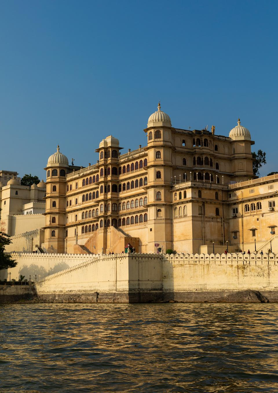 It was built in a flamboyant style and is considered the largest of its type in the state of Rajasthan.