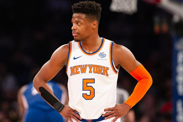 Knicks' 'Shot Doctor' is trying to save Dennis Smith Jr.
