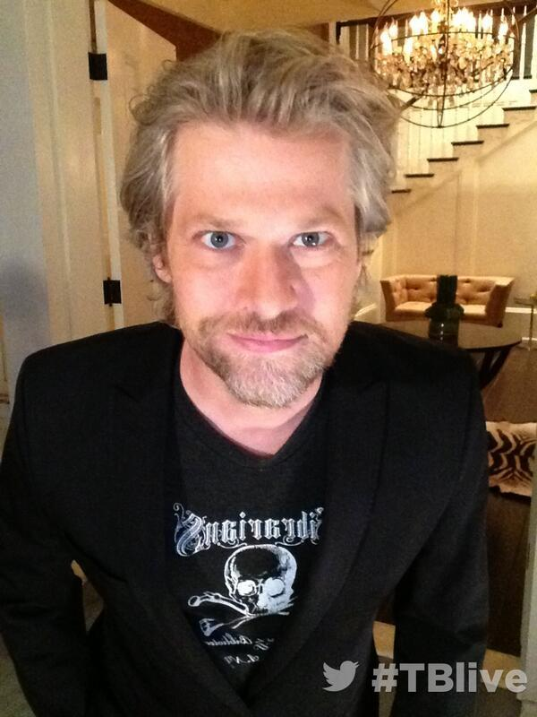 On set at #TBlive #TrueBlood ?with Todd Lowe @Todd__Lowe
