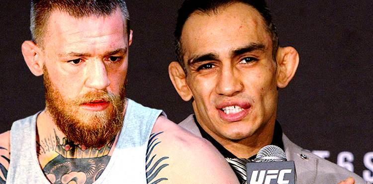 Conoro McGregor and Tony Ferguson