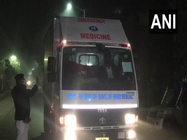 First consignment of Covishield vaccine reaches Siliguri (Photo/ANI)