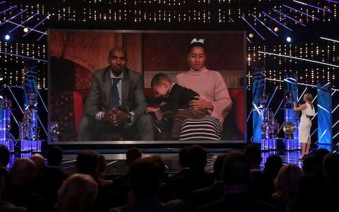 Mo Farah appears on SPOTY via video link - Credit: David Davies/PA