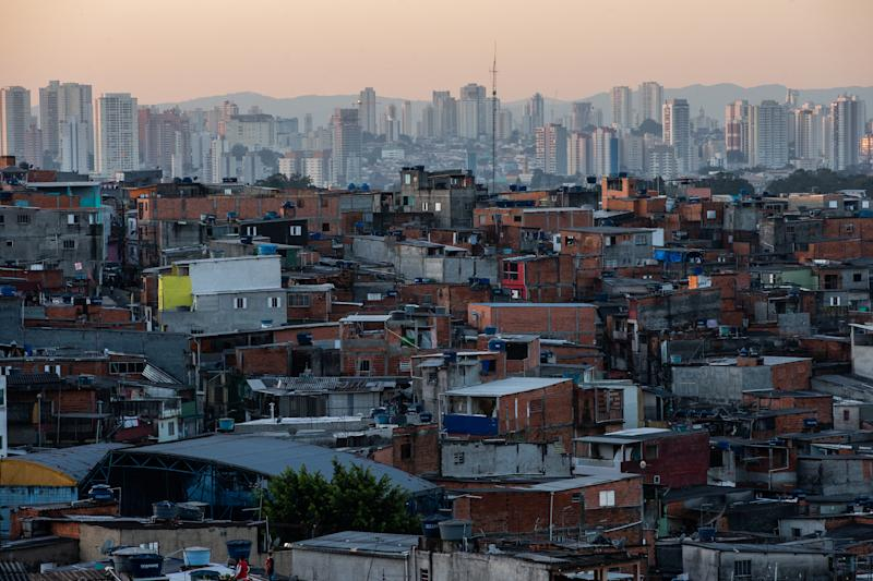 Daily Life at Instituto Baccarelli In Heliopolis Favela Amidst the Coronavirus (COVID -19) Pandemic