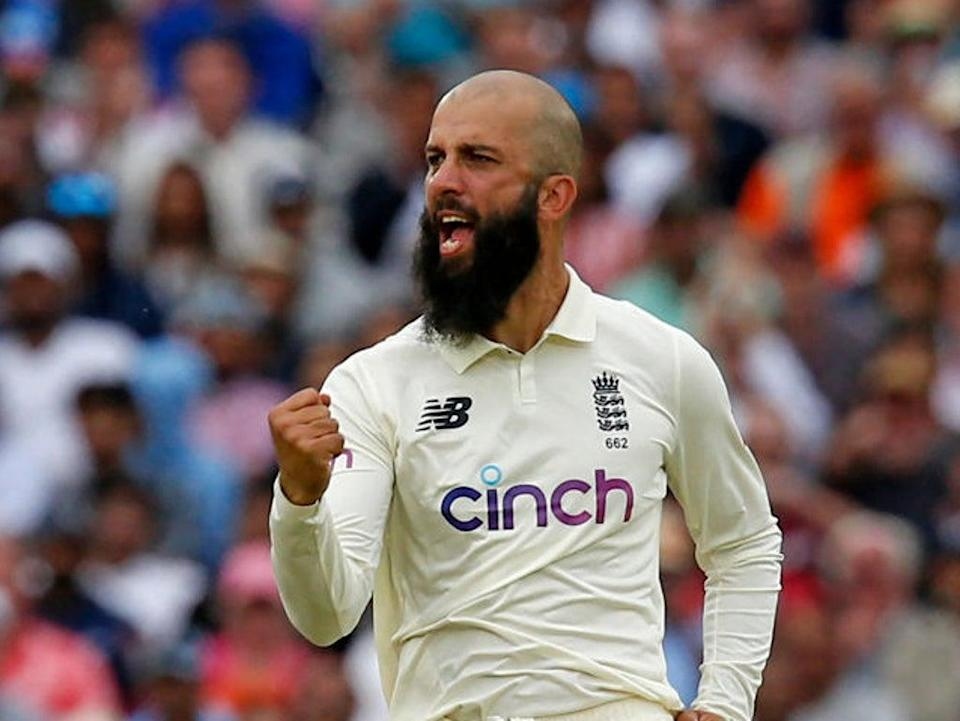 Moeen Ali will be vice-captain for the fourth Test  (AFP via Getty Images)
