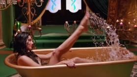 Watch video: Sunny Leone gets naked in a bathtub filled with grapes