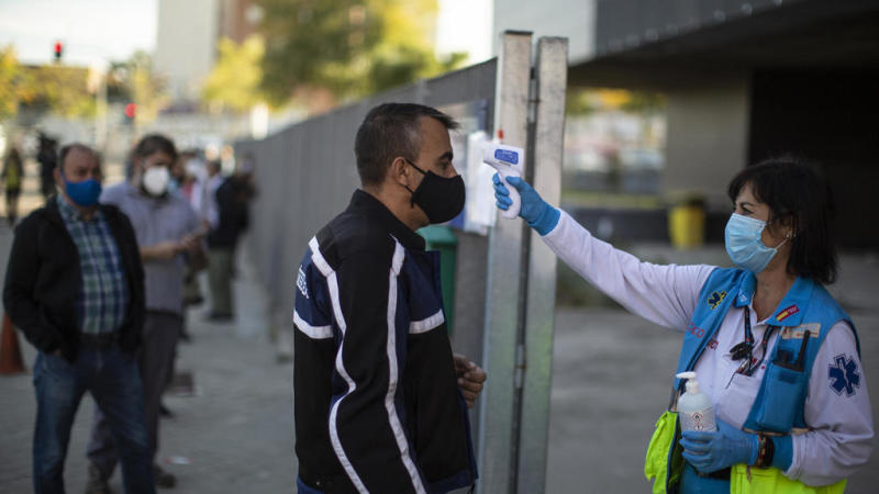 Spain invokes state of emergency to re-impose partial Covid lockdown in Madrid