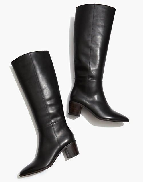 <p><span>Madewell The Carlotta Tall Boot</span> ($200, originally $298)</p>