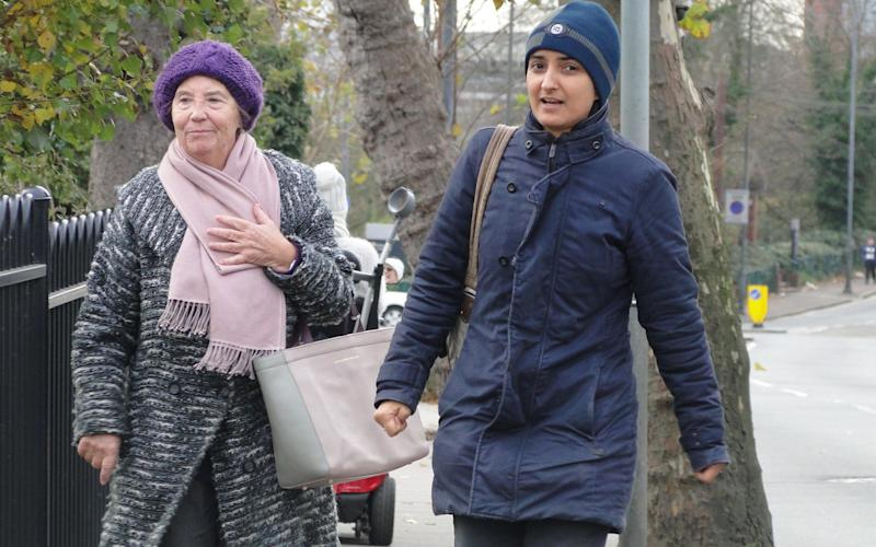 Rosa Rahman, 75, and her daughter, production manager Rebecca Rahman, 46.