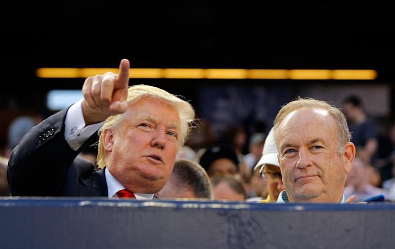 Donald Trump Defends Bill O'Reilly Against Sexual Assault Allegations