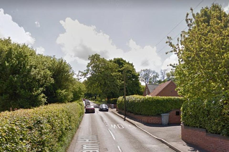 <p>The 65-year-old victim was attacked at his home on Halam Hill, Nottinghamshire</p> (Google Street View)
