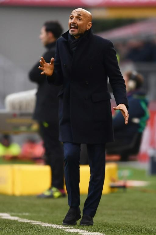 Under pressure: Inter Milan coach Luciano Spalletti