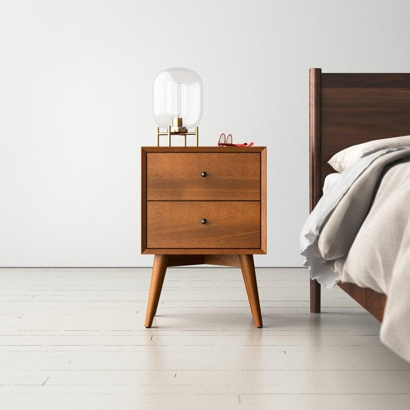 <p>This <span>Williams Nightstand</span> ($213, originally $399) will add texture and storage space in the most streamlined and elegant way. </p>