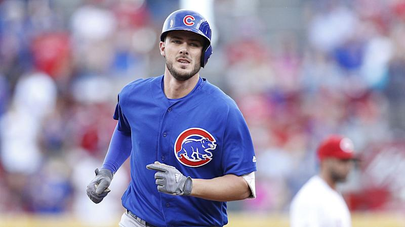 Cubs' Kris Bryant 'as good as can be expected' after being hit with 96 mph fastball