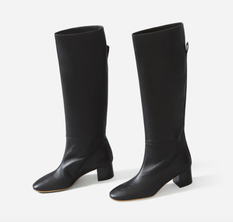 Everlane Knee-High Boot in Black