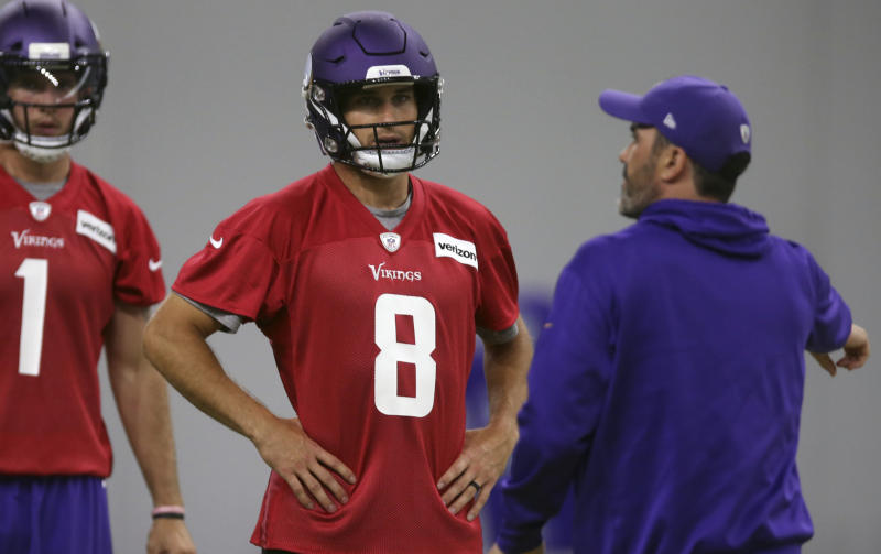 Minnesota Vikings quarterback Kirk Cousins ​​had a positive preparatory debut with his new team. (AP)