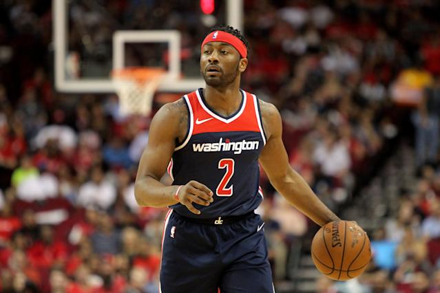"<a class=""link rapid-noclick-resp"" href=""/nba/players/4716/"" data-ylk=""slk:John Wall"">John Wall</a> is looking to put behind him last season's injury-riddled, 41-game campaign. (AP)"