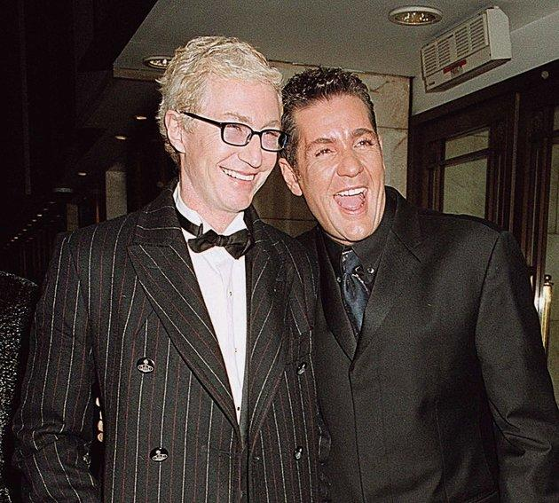Paul and Dale at the Royal Variety Performance in 2001