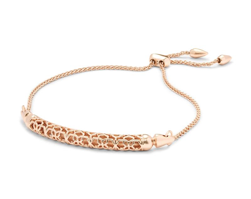 Gilly Rose Gold Link Bracelet. Image via Kendra Scott.