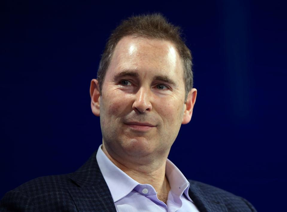 Andy Jassy, CEO Amazon Web Services, speaks at the WSJD Live conference in Laguna Beach, California, U.S., October 25, 2016.     REUTERS/Mike Blake
