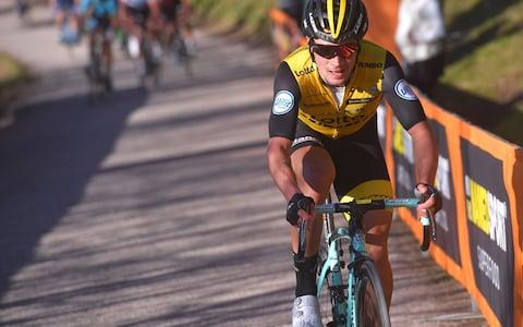 <span>After missing out on a podium finish in France, can Primoz Roglic make the three at the Giro d'Italia?</span> <span>Credit: Getty Images </span>