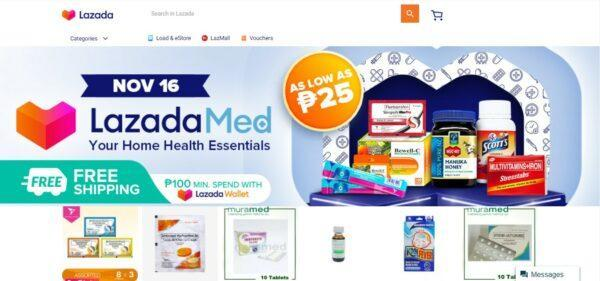Medicine Delivery in the Philippines - LazadaMed