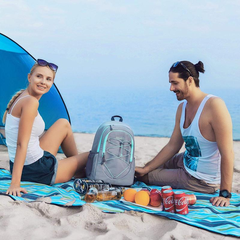 TOURIT Lightweight Cooler Backpack for Hiking. (Photo: Amazon)