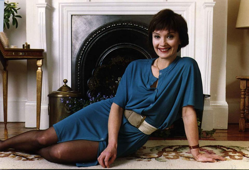 Nicola Pagett - January 1989.British Actress born in Cairo Egypt. (Photo by Nigel Wright/Mirrorpix/Getty Images)