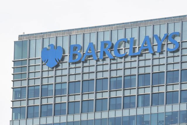 Barclays HQ at Canary Wharf in London. (Paul Ellis/AFP via Getty Images)