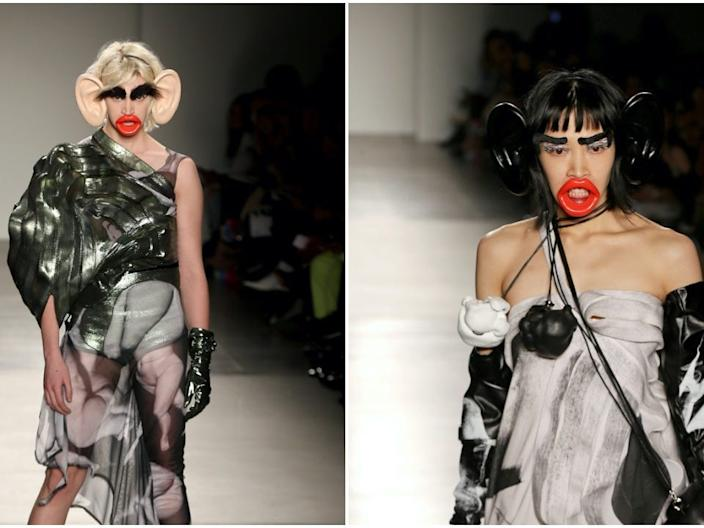 """FIT Fashion Show - """"monkey accessories"""""""