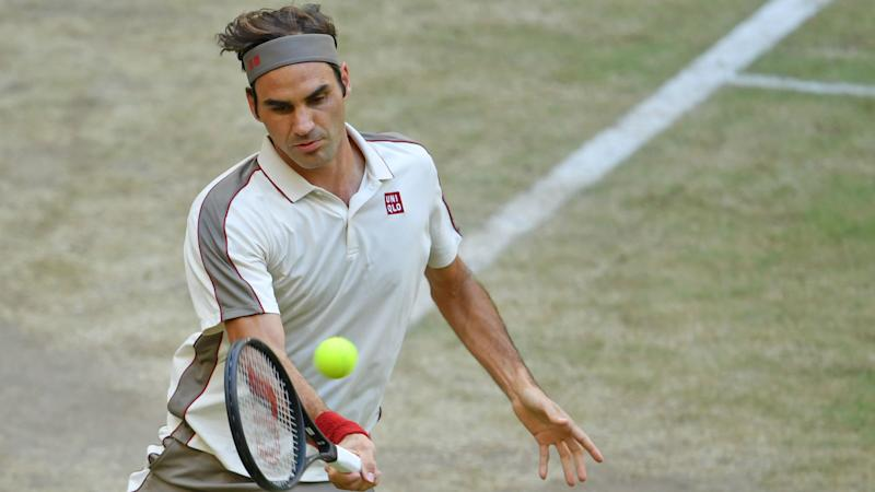 Roger Federer Crushes David Goffin To Clinch 10th Halle Title