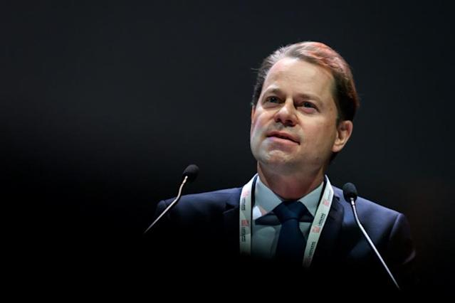 WADA director general Olivier Niggli said he was pleased that a lawsuit from three Russian cyclist against the organization has been dismissed (AFP Photo/Fabrice COFFRINI)