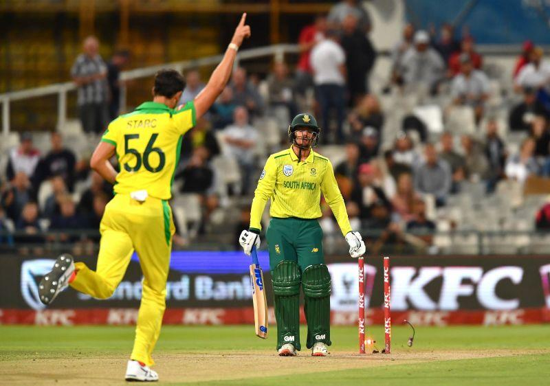 Starc's 3/23 was crucial in Australia bowling out South Africa for 96 and winning by 97 runs