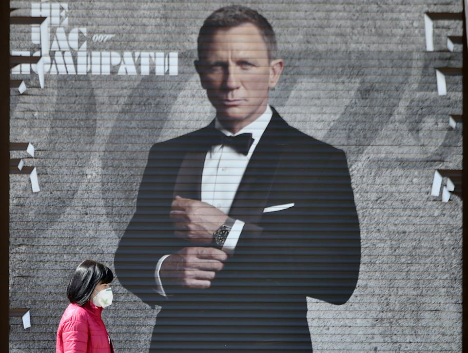 """""""No Time to Die"""", the final installment of the Daniel Craig-led James Bond franchise, will be delayed until Easter weekend 2021 amid coronavirus concerns"""