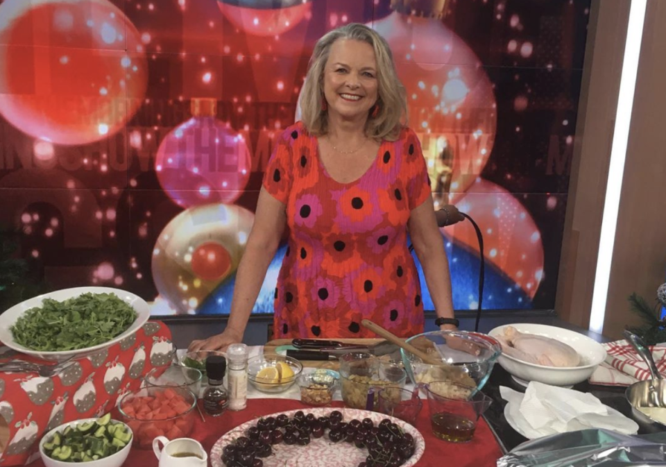 Aussie TV host Lyndey Milan has exposed the 'disgusting' food and chaotic conditions in hotel quarantine. Photo: Instagram/lyndeymilan.