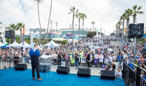 Record-breaking $2.2 Million Raised for Kids at 11th Annual Skechers Pier to Pier Friendship Walk